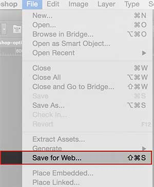 How to Save to Web in Photoshop