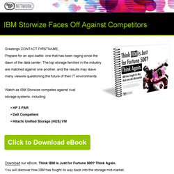 Arrow Think IBM is only for Fortune 500 Email