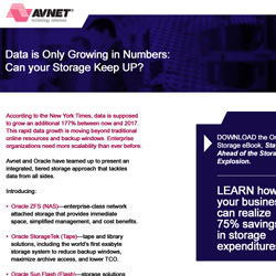 Avnet Data is Growing Email