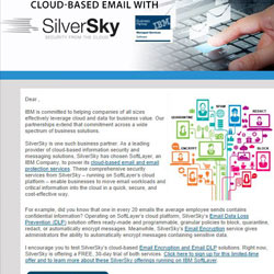 SilverSky Cloud Based Email