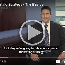 Channel Marketing Strategy - The Basics
