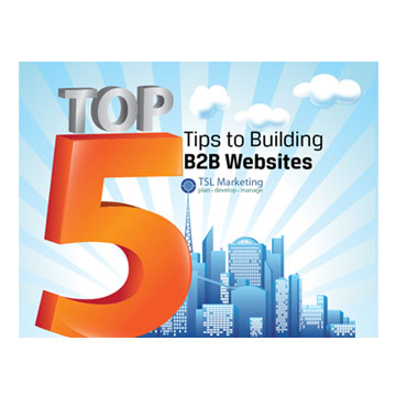 Top 5 Tips to building B2B Websites